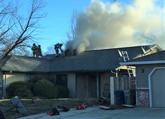 A cell phone charger has not been ruled out as the cause of a fire in east Redding on Tuesday, Redding fire officials said.
