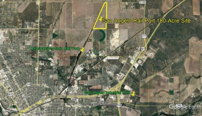 The proposed San Angelo Rail Port moved closer to reality when a 183-acre site was purchased for $541,813 in September.