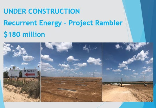 The Rambler Project, a solar electricity installation initiated by Recurrent Energy, was acquired last year by Duke Energy Renewables in September 2019.