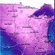 Temperatures well below zero with dangerous wind chills are predicted for Central Minnesota starting Wednesday night.