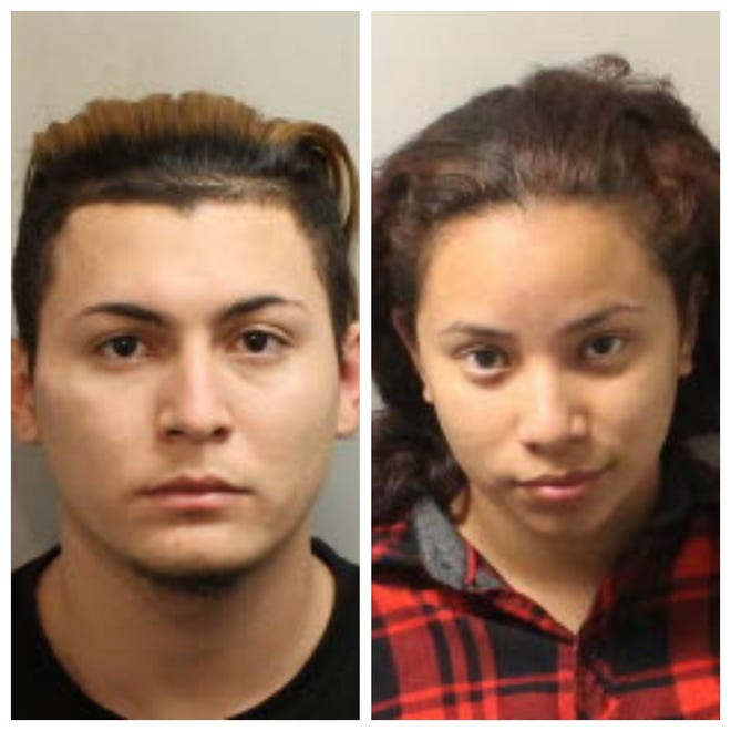 Kevin Olmeda-Velis and Tania Duarte were arrested Monday on charges of custodial interference.