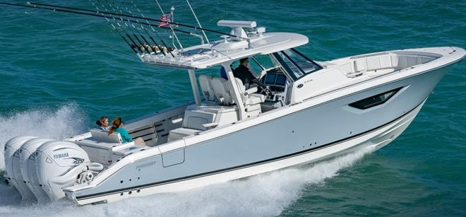 The Pursuit S 378 is the newest model offered by Pursuit Boats in Fort Pierce. It will be at the Miami Boat Show.