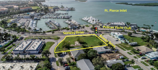 The 1-acre parcel on Hutchinson Island in Fort Pierce recently sold at auction for $500,500.