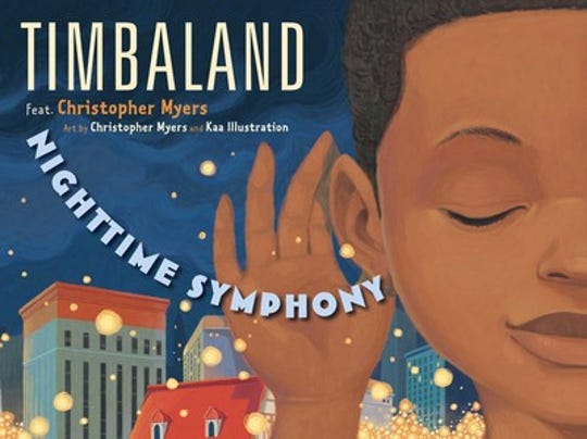 Nighttime Symphony by Timbaland featuring Christopher Myers, art by Christopher Myers and Kaa Illustration