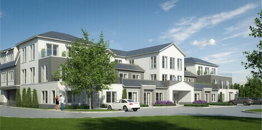 Concept art of Mariani Gardens redevelopment in Armonk