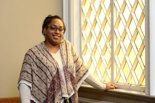 Nicole Hines, assistant director of Nyack Center, where she is adviser to the Teen Council, Feb. 11, 2020 at the Nyack Center. Hines is also the chairwoman of the Village of Nyack Housing Authority.