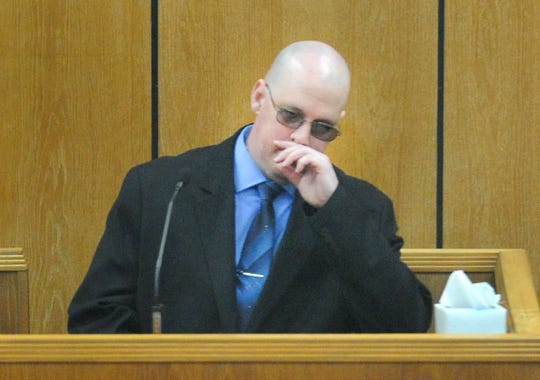 Christopher Wayne Morriss testified in his own defense Tuesday morning during his trial in 89th District Court.