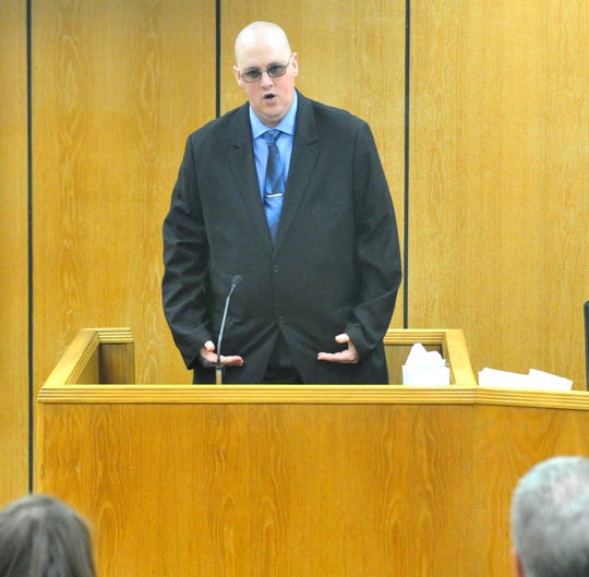 Christopher Wayne Morriss of Wichita Falls testified Tuesday morning during his child sexual abuse trial in the 89th District Court.
