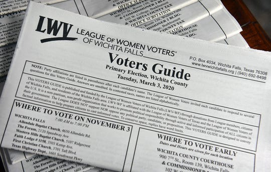 The Voters Guide, presented by the League of Women Voters, is one of the key elements of the the organization's efforts to educate the voters, regardless of political affiliation. The national group is marking its 100th anniversary.