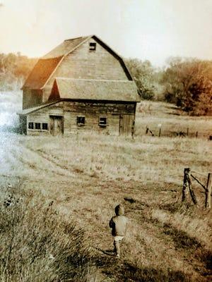 Apps' farm circa 1966.