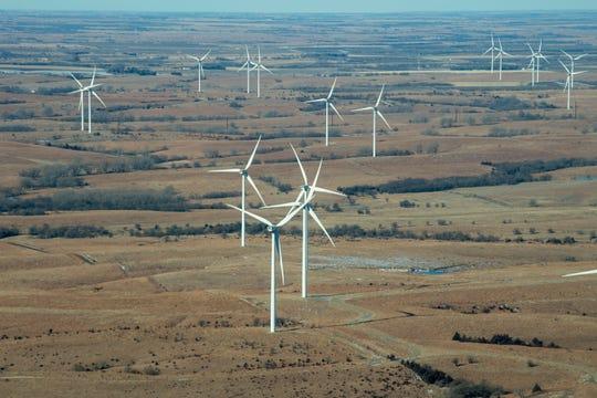 EDP Renewables operates wind turbines on Meridian Way Wind Farm.