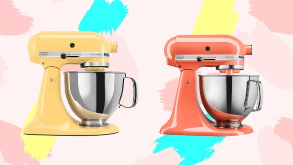 The iconic KitchenAid stand mixer is on sale in these amazing colors