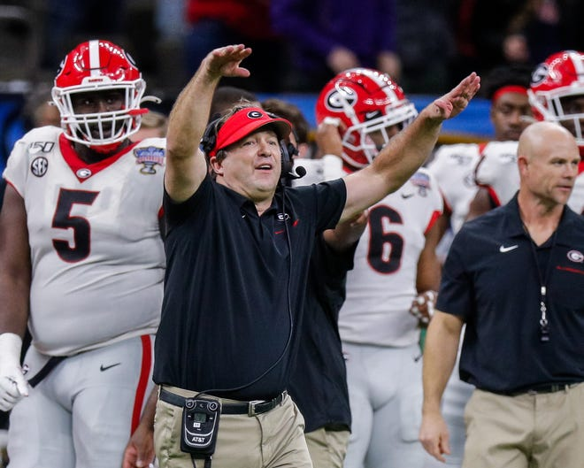 Georgia head coach Kirby Smart's total compensation was $6.7 million in 2019.