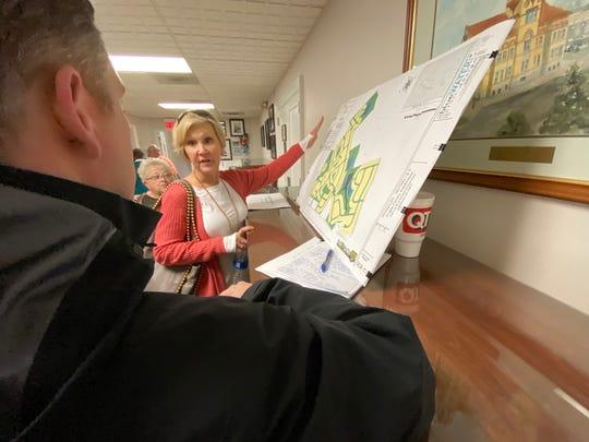 Beverly Moody raises concerns about a 563-unit development for the Piedmont area.