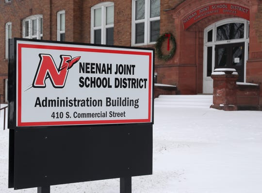 The Neenah Joint School District has offices at 410 S. Commercial St. in Neenah.