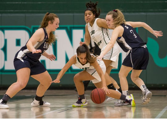 Middletown South vs Long Branch girls basketball.   