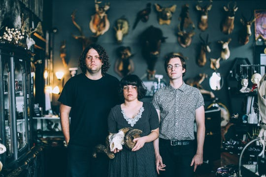 Screaming Females of New Brunswick host their annual Garden Party at White Eagle Hall in Jersey City on Feb. 22.