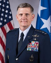 Gen. Timoth Ray, commander of the Air Force Global Strike Command and former Dyess AFB commander