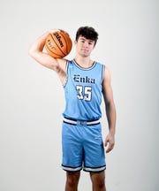 Jackson Smith is a senior on the Enka High School basketball team.