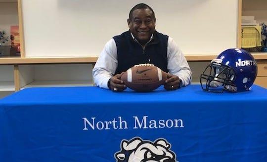 North Mason named Dr. Thomas Mosby as the Bulldogs' new head football coach on Wednesday.