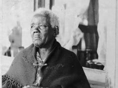 This 1937 photograph depicts Sarah Gudger, a remarkable woman who spent the first 50 years of her life enslaved. She died a little over a year later, purportedly at the age of 122 years old. She is buried in Swannanoa.