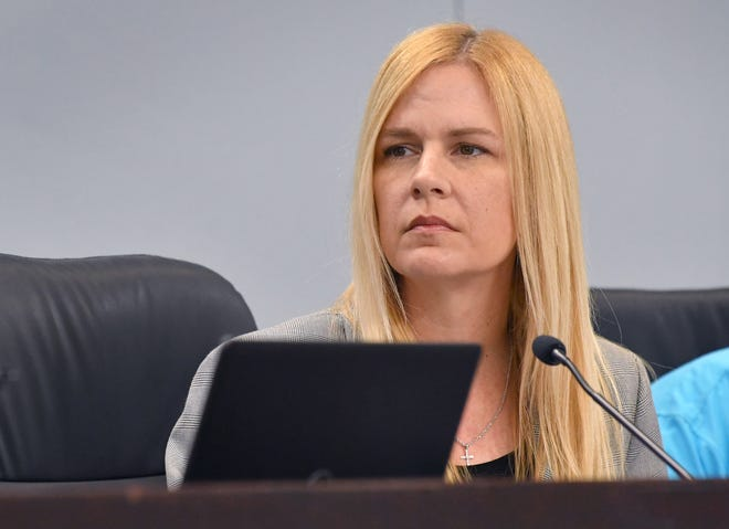 "County Commissioner Kristine Isnardi, in opposing aresolution that would restrict ""critical needs"" declarations related to the county budget, said: ""I'm not going to to play this political game, and be boxed into anything just because it may not win me favor,"""