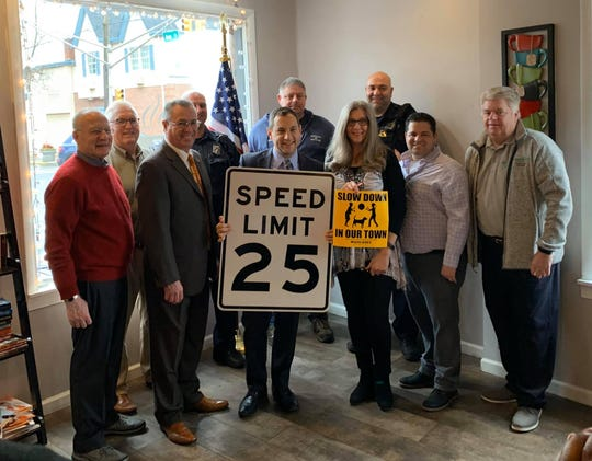 In collaboration with Middlesex County, Metuchen will lower speed limits on all county roads in the borough to 25 miles per hour effective Friday.
