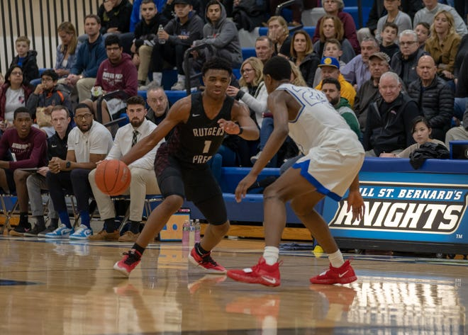 The Rutgers Prep boys basketball team rallied to defeat Gill St. Bernard's 65-59 on Tuesday night