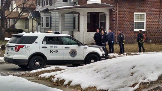 A man was arrested after police say he held a woman at knife-point in a central Des Moines home on Wednesday, Feb. 12, 2020.