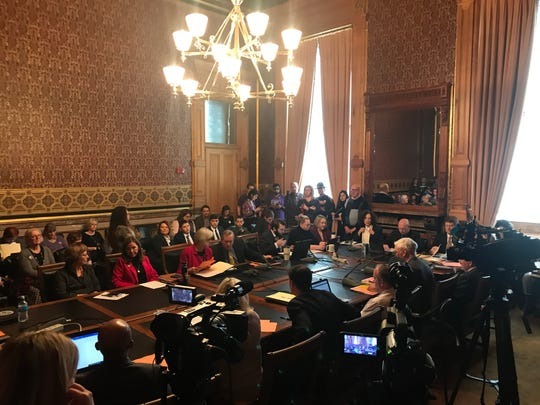 """The Iowa House Judiciary Committee met Wednesday, Feb. 12, 2020 at the Iowa State Capitol to consider a proposed constitutional amendment that would state that the Iowa Constitution """"shall not be construed to recognize, grant or secure a right to abortion or require the public funding of abortion."""""""