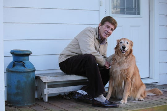 Warren Pierce lives in Bloomfield Township with his friend and workout partner, Miley. She's a golden retriever.
