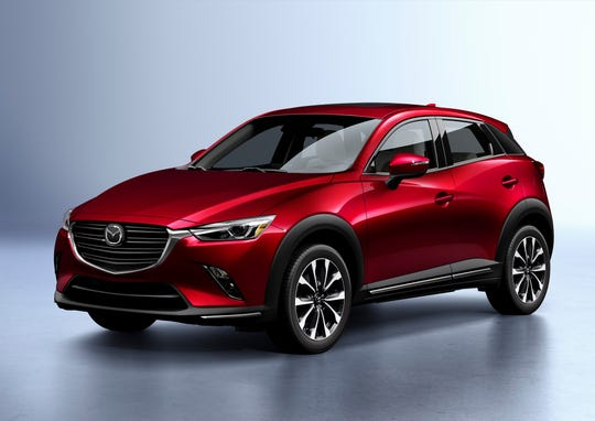 Mazda has the most Top Safety Pick+ awards with five, including the CX-3.