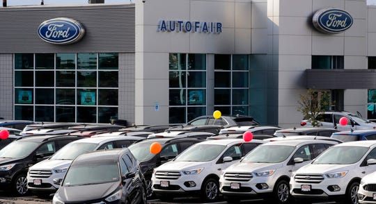 Auto dealerships should be exempt from virus-related shutdowns, the industry argues.