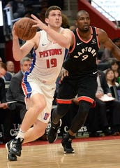 Pistons wing Svi Mykhailiuk is contributing 8.9 points, 1.7 rebounds and 1.7 assists for the whole season, but after he became a regular starter, the numbers increased to 12.9 points and 44 percent on 3-pointers.