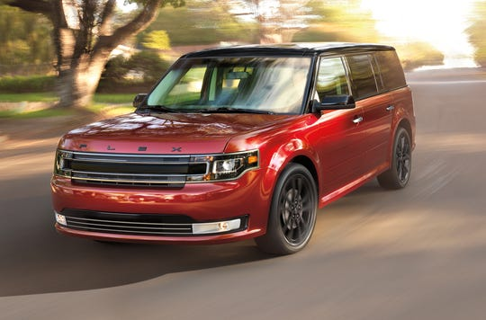 The 2018 Ford Flex is included in a Ford recall for suspension parts that can fracture and increase the risk of a crash.