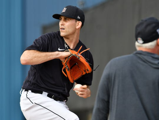 The Detroit Tigers will hold their camp at Comerica Park.