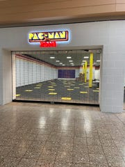 Pac-Man Zone in Eastland Mall