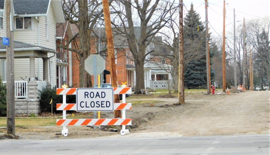 The City of Clyde will be finishing improvements to half of West Cherry Street this spring and then begin working on upgrades and sewer seperations to the second section of the same street all the way to Mulberry Street.