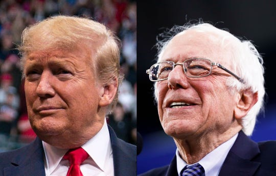 President Donald Trump and Sen. Bernie Sanders are planning visits to Colorado ahead of the March 3 presidential primary.