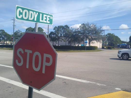 Intersection of Cody Lee Road and Fiddlesticks Boulevard at Daniels Parkway will include a median preventing cross-traffic from Publix Super Market to a CVS across what is now Fiddlesticks Boulevard. County traffic officials say the cross-traffic at that point is dangerous.