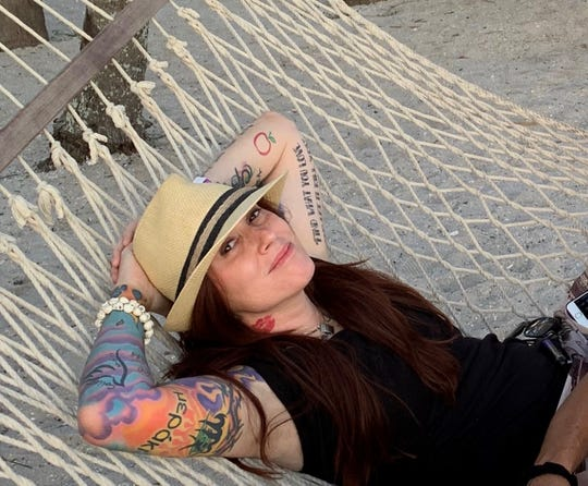 Amy Dimon of Fort Myers didn't make it to the semi-finals to be a cover girl for Inked magazine.