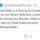 President Donald Trump Tweeted this endorsement of Republican Matt Rosendale in the U.S. House race for 2020.