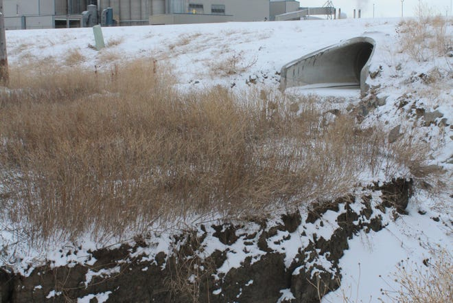 Substantial erosion at the Central Montana Agri-Tech Park is prompting a $1.7 million storm drain project
