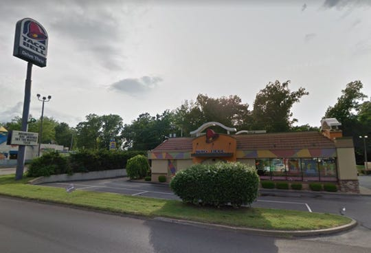 The current Taco Bell location in Henderson is shown in this Google Street View image.