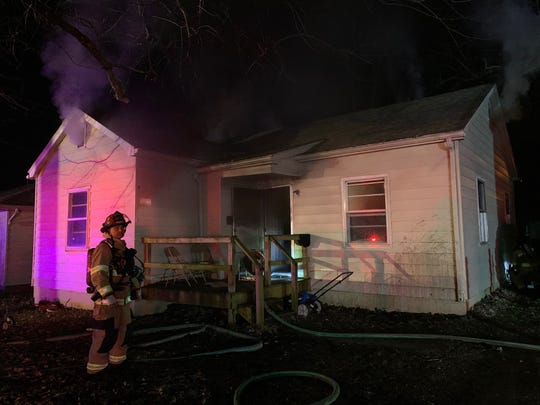 The Henderson Fire Department responded to a structure fire on Roosevelt Street early Wednesday. Six people were displaced.
