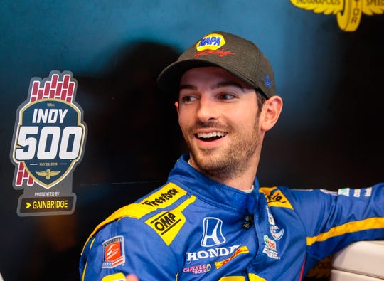 Alexander Rossi won two IndyCar races in 2019.