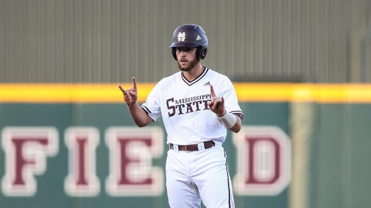 Mississippi State sophomore catcher Luke Hancock is set to take the reins behind the plate for the Bulldogs this season.