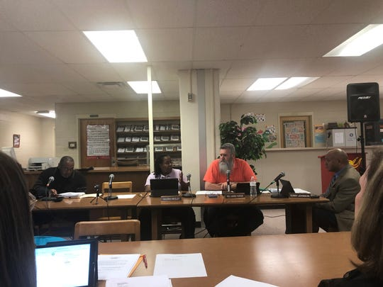 Humboldt City school board members Leon McNeal, Valeria Smith-Wedley, Mark Hodge and Terry Johnson met Thursday, February 6, where they discussed the superintendent search, board relationships and school safety.