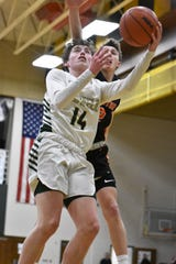 Bobby Samples scored 12 points for Howell in a 47-31 victory over Brighton on Tuesday, Feb. 11, 2020.