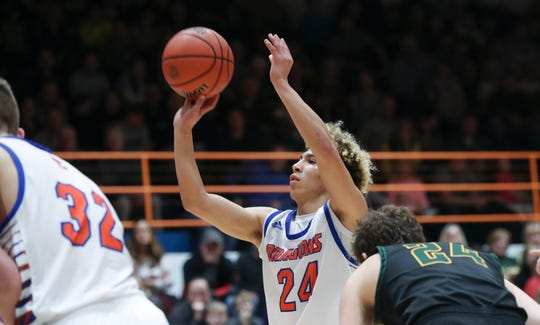"""""""I don't think any offense to it. I don't think there's any pressure to live up to that name. I think we're two different people, two different players. People are always going to compare us,"""" Silver Creek sophomore guard Branden Northern said."""
